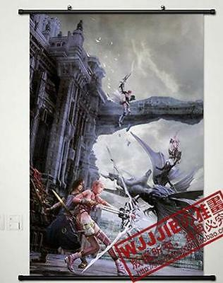 """Anime Final Fantasy Home Decor Cosplay Poster Wall Scroll 23.6*35.4"""" C667"""
