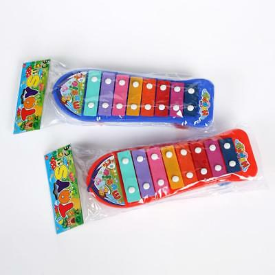 1x Skateboard Xylophone Childrens Kids Musical Instrument 8 Note Music Maker Toy