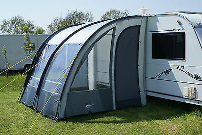 Leisurewize ONTARIO 260 Lightweight Caravan Porch Awning - Blue
