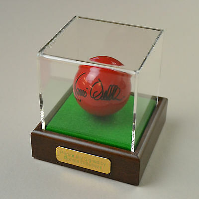 Ronnie O'Sullivan Signed Snooker Ball Autograph Display Case Memorabilia COA