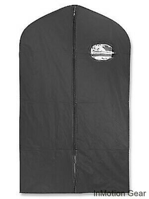 Zippered Garment Bag 3mil 24x40 Suits Coats Marching Band Uniform Vinyl PVC