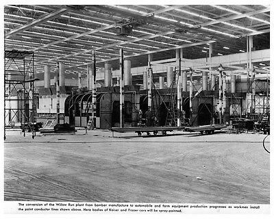1946 Kaiser Willow Run Plant Factory Photo ca4547