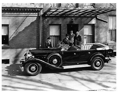 1931 Packard Twin Six Photo NY Governor Franklin D Roosevelt ca4554