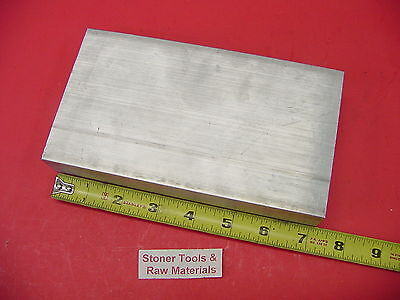 "D 1-1/2"" X 4"" ALUMINUM 6061 FLAT BAR 7.1"" Long Solid T6511 1.50"" New Mill Stock"