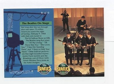 The Beatles Collection 1993 PROMO CARD -8 0f 9 The River Group