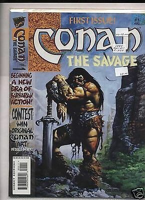 Conan The Savage # 1 Marvel Comics '95 VF/NM