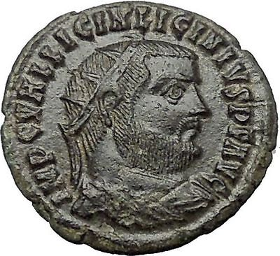 Licinius I Constantine The Great enemy 321AD Ancient Roman Coin Jupiter i54447