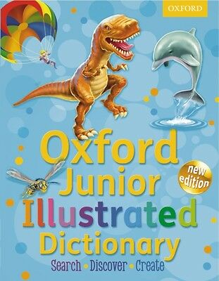 Oxford Junior Illustrated Dictionary (Paperback), Oxford Dictiona...