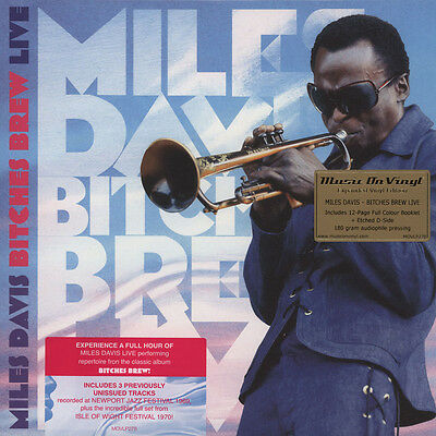 Miles Davis - Bitches Brew Live (Vinyl 2LP - 2011 - EU - Original)