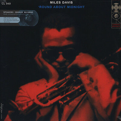 Miles Davis Quintet, The - Round About Midnight (Vinyl LP - DE - Reissue)