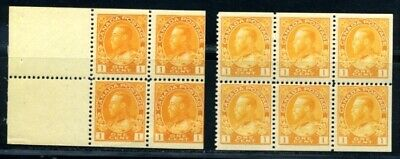 Canada Kgv Booklet Panes
