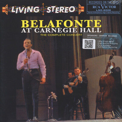 Harry Belafonte - Belafonte At Carnegie Hall (Vinyl 2LP - 1959 - EU - Reissue)