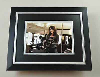 Michelle Ryan Signed 10x8 Photo Framed Bionic Woman Autograph Display + COA