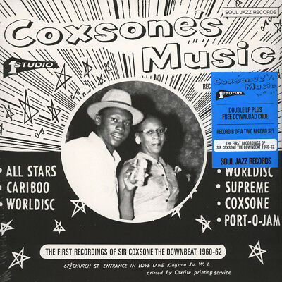 Soul Jazz Records presents - Coxone's Music - (Vinyl 2LP - 2015 - UK - Original)