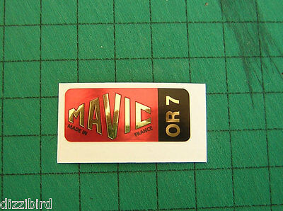perfect for renovations VINTAGE MAVIC SSC Rim decals /'Red/' version