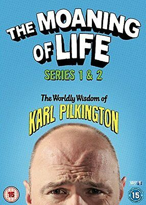 The Moaning of Life - Series 1-2 [DVD] [2015] Karl Pilkington
