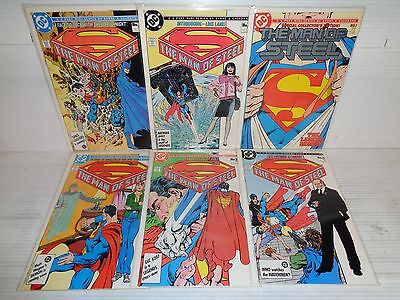 The Man of Steel Mini 1-6 COMPLETE SET! 6 DC comic books (b#14841)