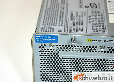 HP ProCurve Switch zl 875 W Power Supply (J8712A)
