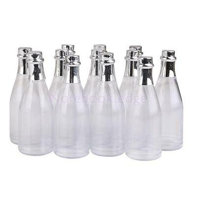 12pcs Fillable Champagne Bottles Wedding Party Baby Shower Favors Candy Gift