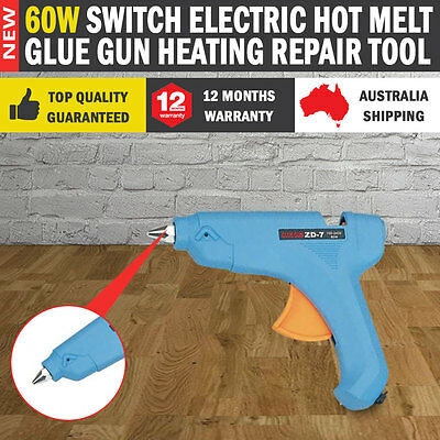 NEW 60W Switch Electric Hot Melt Glue Gun Heating Repair Tool