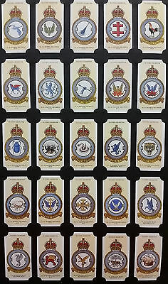 Card Collectors Society Full Repro Set of 50 - Players - RAF Badges