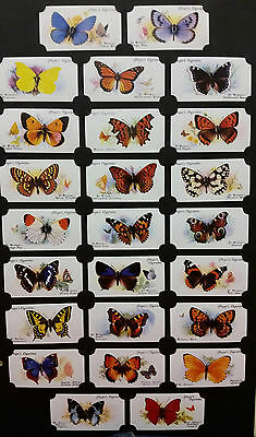 Card Collectors Society Full Repro Set of 50 - Players - Butteflies