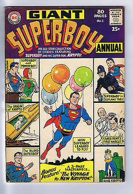 Superboy Annual #1 DC Pub 1964