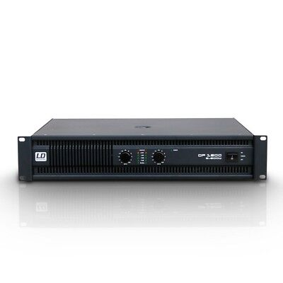 LD Systems DP 1600 DEEP2 Serie - PA Endstufe 2 x 800 W 2 Ohm