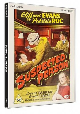 Suspected Person - DVD NEW & SEALED - Clifford Evans, Patricia Roc