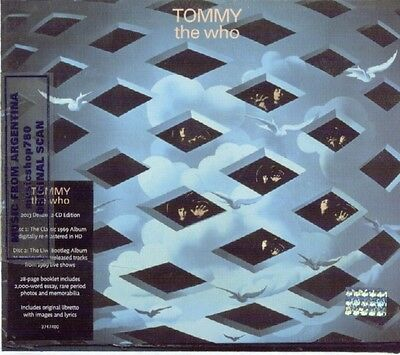 The Who Tommy Deluxe Edition Sealed 2 Cd Set New Remastered