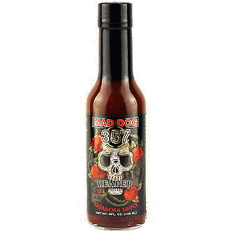 357 Mad Dog Reaper Sriracha Sauce (with Carolina Reaper)