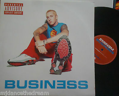 "EMINEM ~ Business ~ 12"" Single PS"