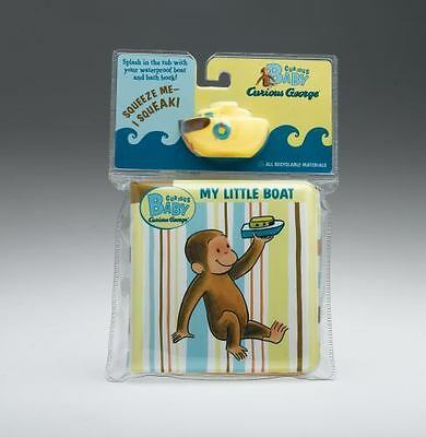 Curious Baby Curious George Ser.: My Little Boat by H. A. Rey (2009, Mixed...