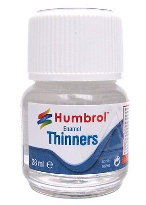 Humbrol Enamel Thinners 28ml Bottle- AC7501