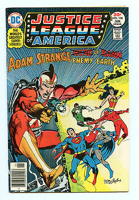 Justice League of America (1960 1st Series) #138 VF- Neal Adams Cover! -W475