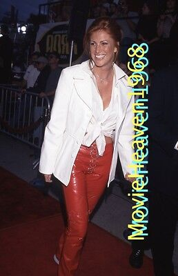 ANGIE EVERHART 35mm SLIDE TRANSPARENCY 6186 NEGATIVE PHOTO