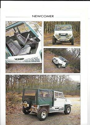 SCAMP KIT CAR 21st BIRTHDAY  'WHICH KIT?'  'SALES BROCHURE' JUNE 1990