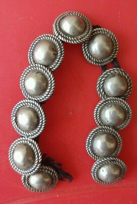 Old and Rare Hand Crafted Silver Beads from Ethiopia wello Region