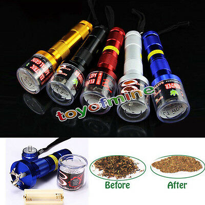 New Zinc Alloy 1800 RPM Electric Herb Polinator Tobacco Grinder Chopper Crusher