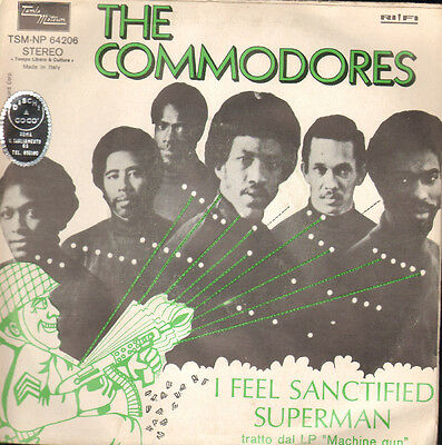 Commodores - I feel sanctified/Superman
