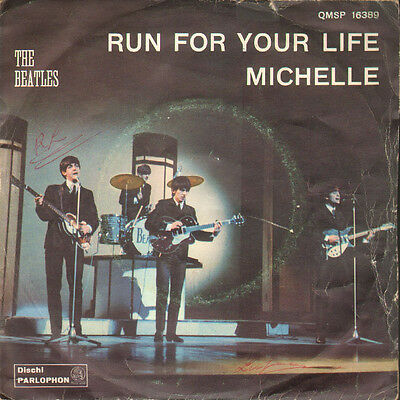 Beatles - Michele/Run for your life