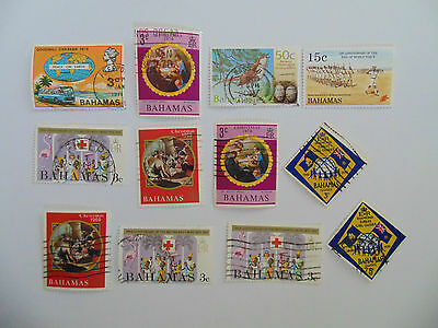 L788 - Mixed Bahamas Stamps