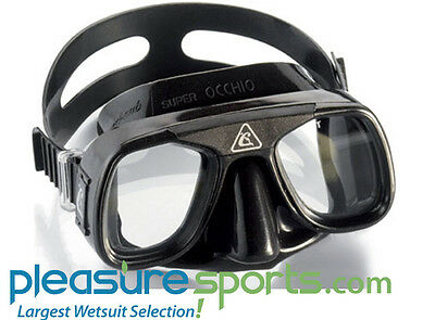 Cressi Superocchio Dive Mask Spearfishing Freediving Diving Low Volumn Excellent