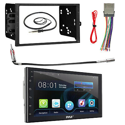 Kenwood DPX302U 2-Din CD Car Receiver Package With Install Kit For GM Vehicles