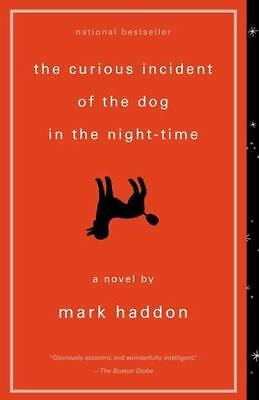 The Curious Incident of the Dog in the Night-time by Mark Haddon (2004, Paper...