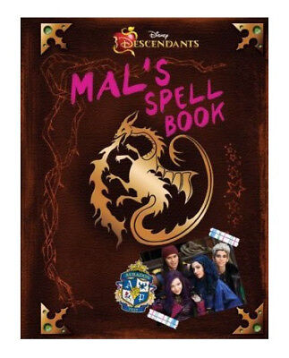 Descendants: Mal's Spell Book by Disney Book Group (2015, Hardcover)