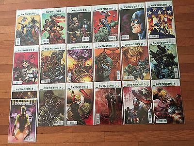 Marvel Comics ULTIMATE AVENGERS #1-18 Full Run + Variant #13; Mark Millar