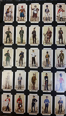 Card Collectors Society Full Repro Set of 50 - Players - Uniforms Of The T. Army