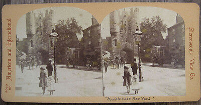 STEREOVIEW View at Micklegate Bar in York