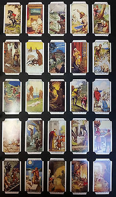 Card Collectors Society Full Repro Set of 50 - Churchman - Legends of Britain